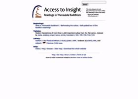 accesstoinsight.org