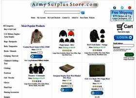 armysurplusstore.com