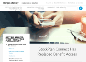 Morgan stanley smith barney stock options