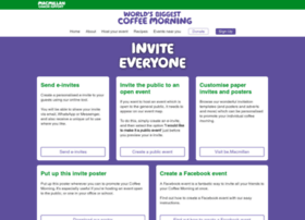 coffeeinvites.macmillan.org.uk