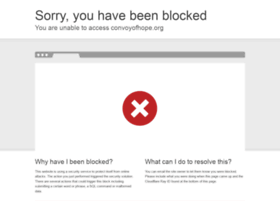 convoyofhope.org