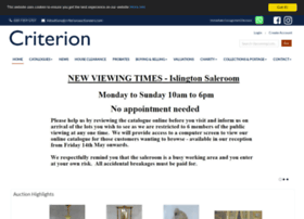 criterionauctioneers.com