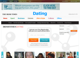 Irish times dating