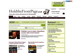 holdthefrontpage.co.uk