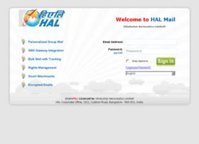 mail.hal-india.com