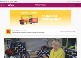 maisvoce.globo.com