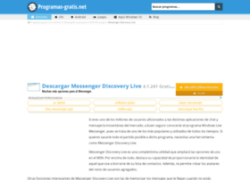 messenger-discovery-live.programas-gratis.net
