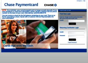 mychasepaymentcard.com