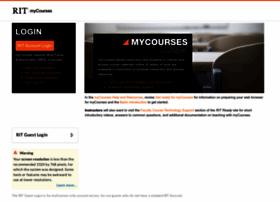 mycourses.rit.edu