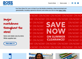 Www rossstores com online shopping