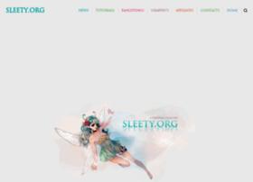 sleety.org