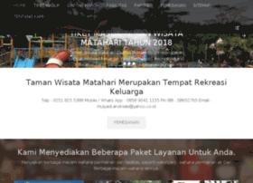 tamanwisatamatahariwaterpark.com