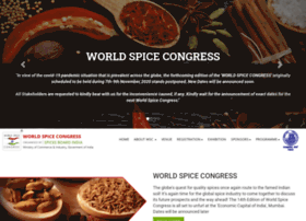 worldspicecongress.com